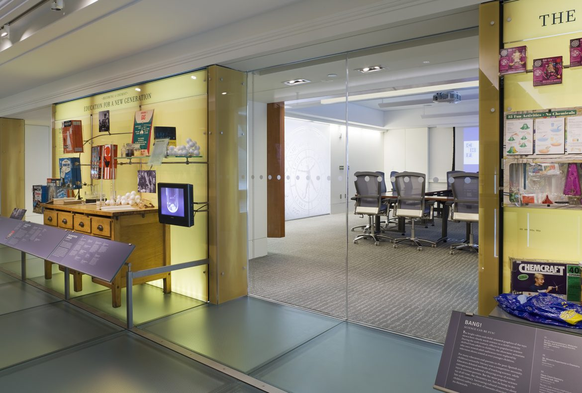 Chemical Heritage Foundation, Location: Philadelphia, PA, Architect: Saylor Gregg Architects, Exhibit Design: Ralph Appelbaum Associates